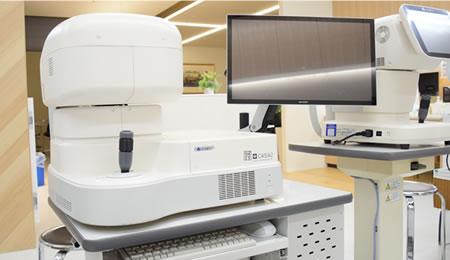 各種検査機器による的確な診断