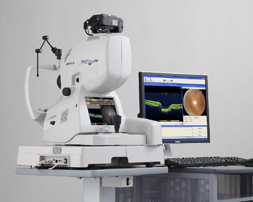 眼底3次元画像解析装置(トプコン)
