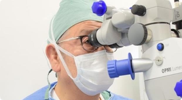白内障、緑内障、網膜疾患など日帰りでの手術が可能です